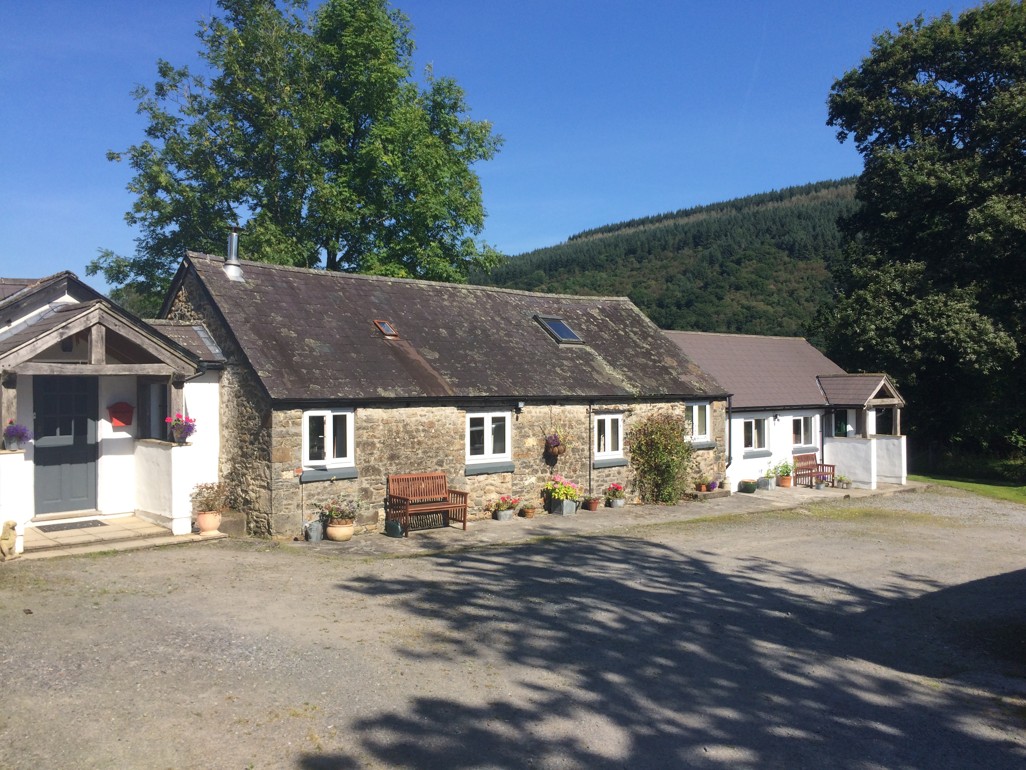 The Gorlech Cottage – self catering – 2 bed, sleeps 4